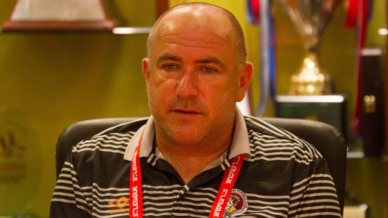 Balestier coach Marko Kraljevic