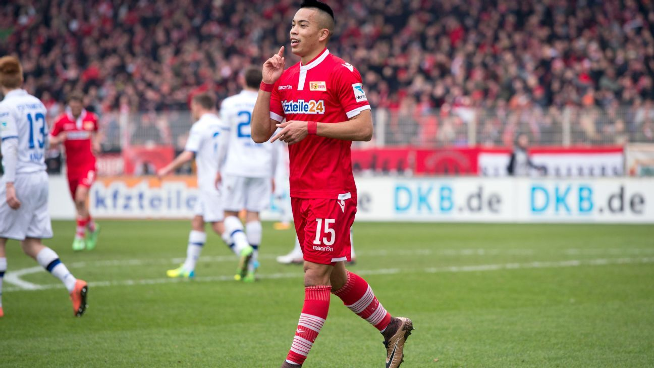 Bobby Wood continues to impress in Germany with 12 goals this season at Union Berlin.
