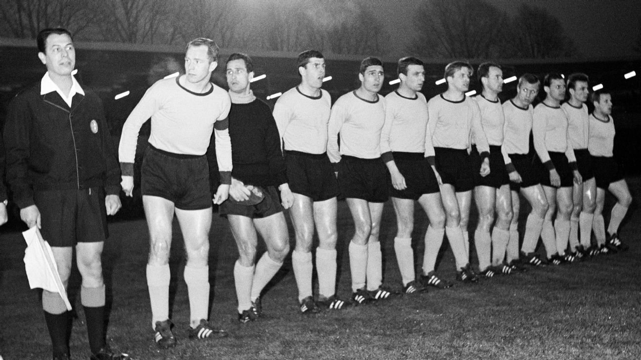 Borussia Dortmund's famous 1966 Cup Winners' Cup conquest included a semifinal victory at West Ham.