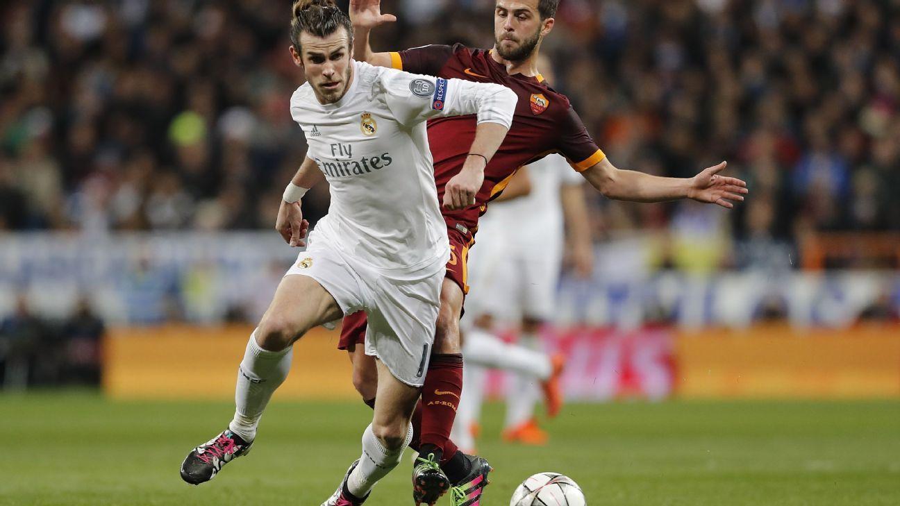 Gareth Bale v Roma