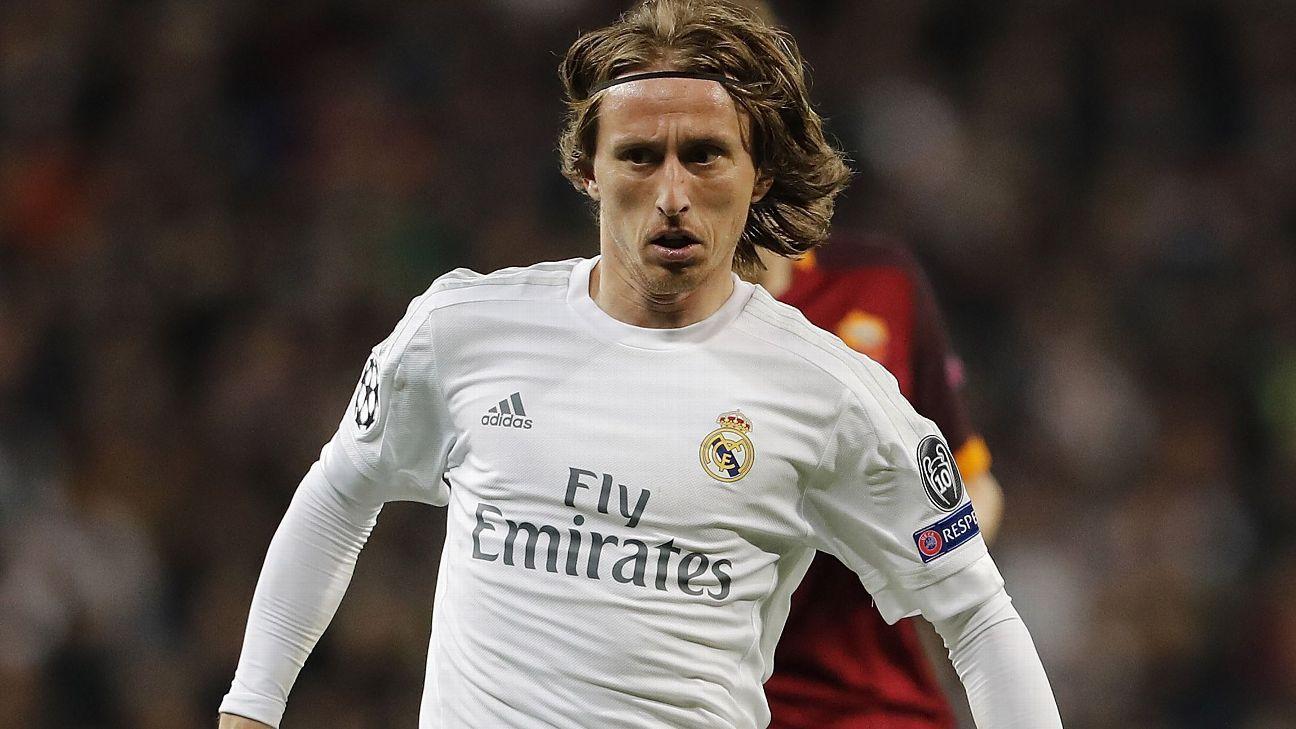 Luka Modric v Roma