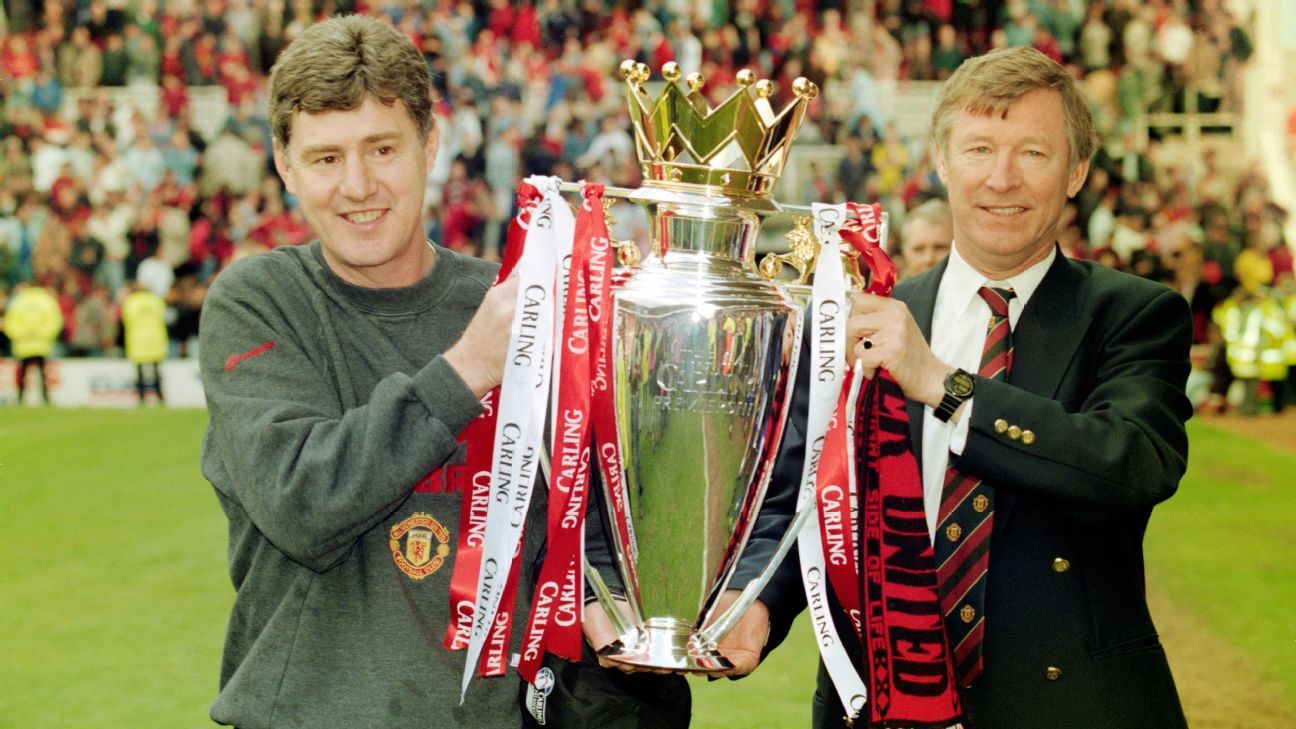 Brian Kidd and Sir Alex Ferguson