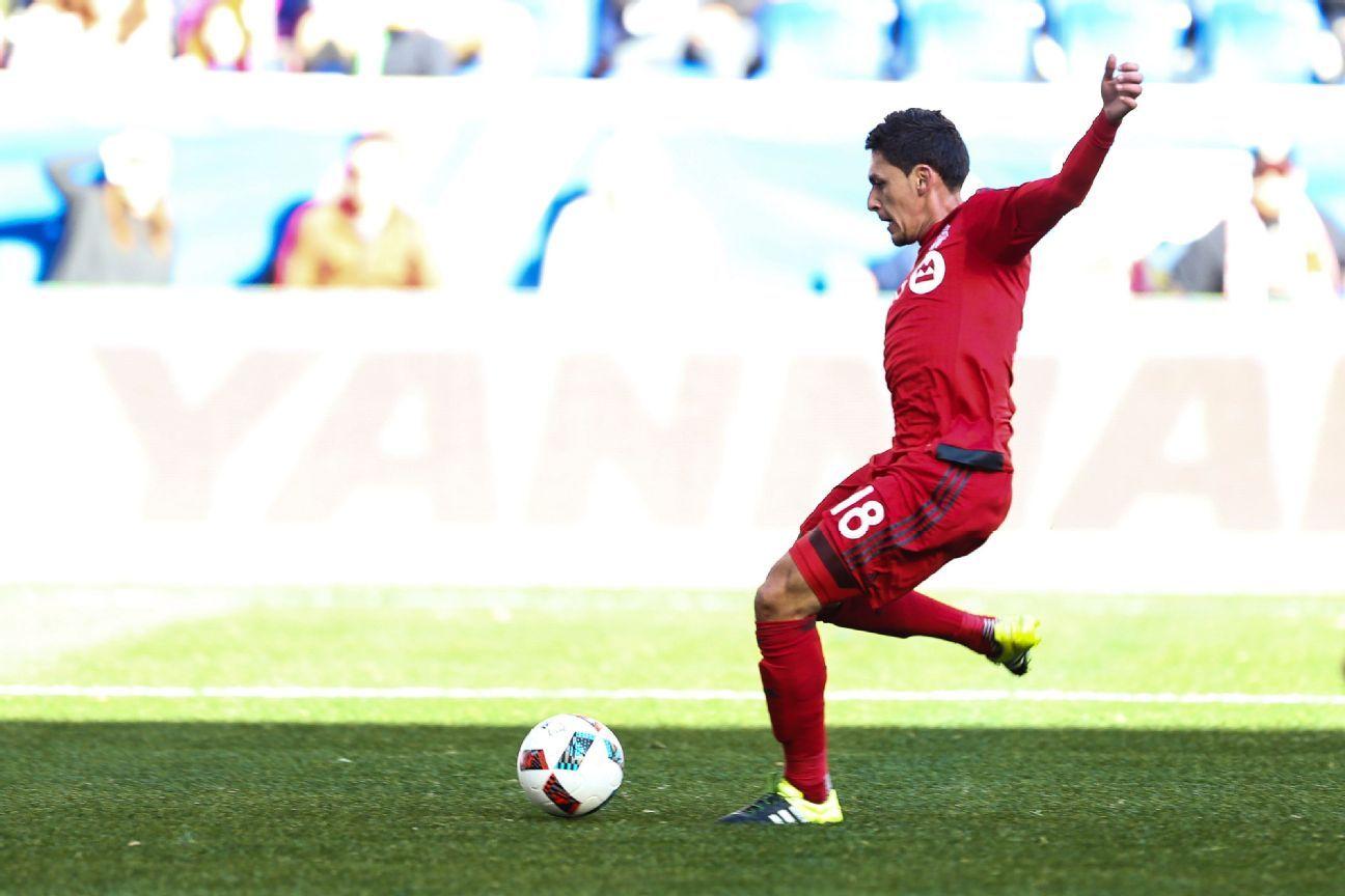 Versatile midfielder Marky Delgado has developed into a playmaker for Toronto FC.