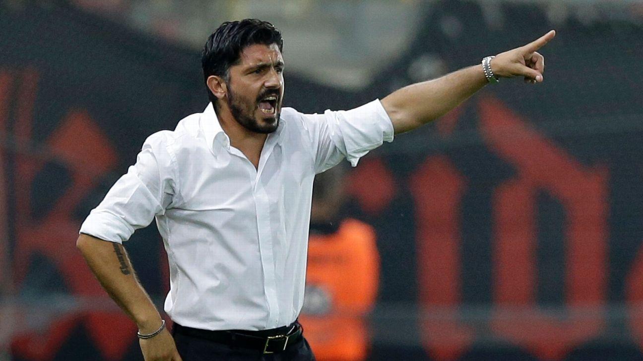 Gennaro Gattuso manager