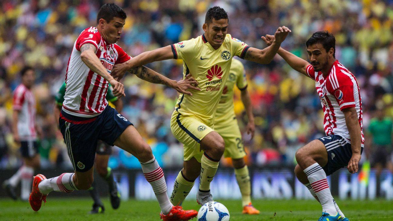 Eternal Mexican rivals Club America and Chivas are set to renew hostilities on Sunday in Guadalajara.
