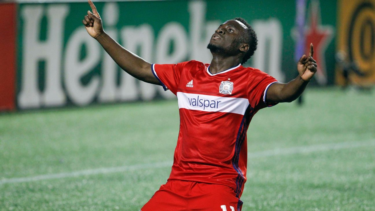 David Accam Fire vs OC 160311