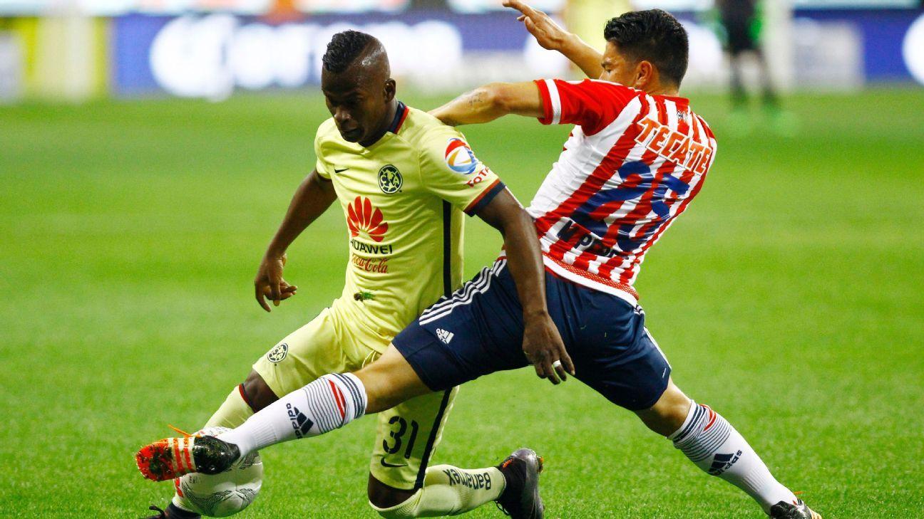 Quintero America vs Chivas 160313