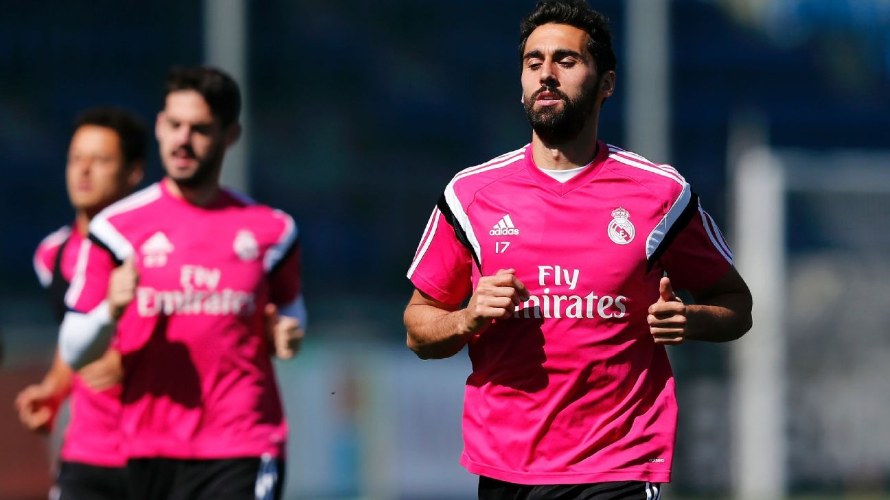 Real Madrid's Alvaro Arbeloa