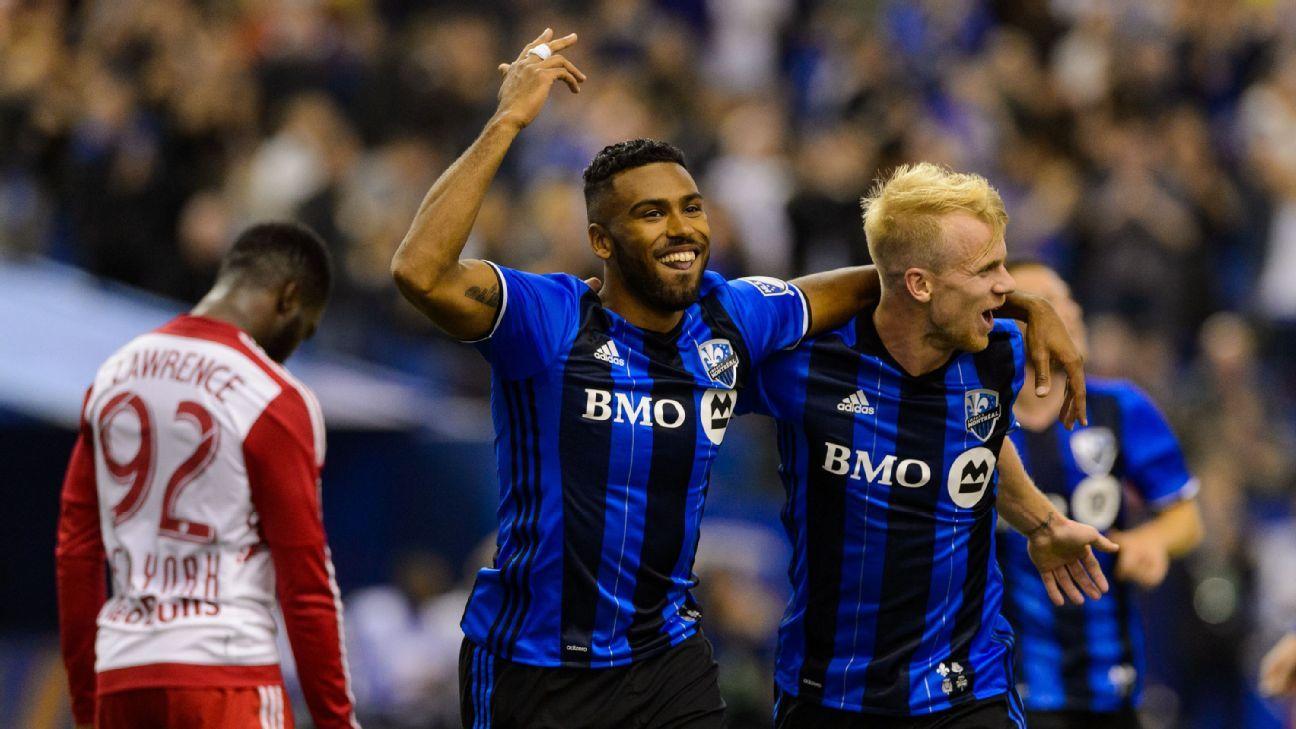 Montreal Impact celebrate