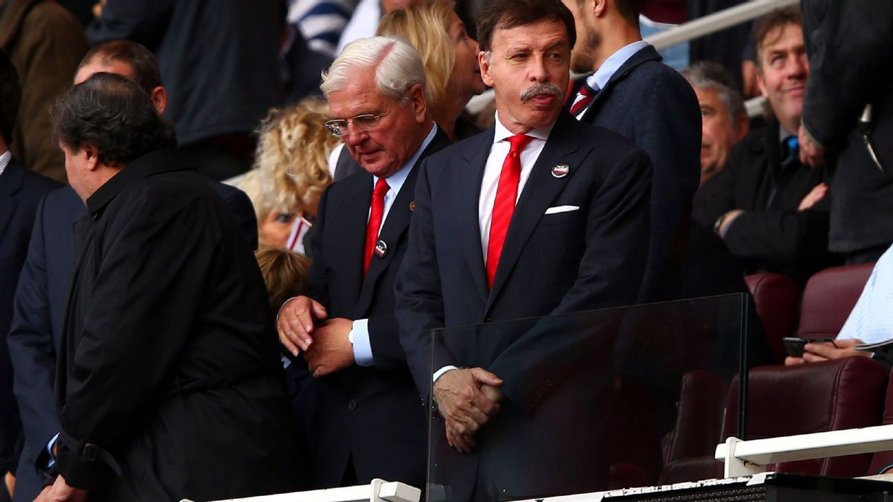 Stan Kroenke raised funds for the purchase of Arsenal through loans.