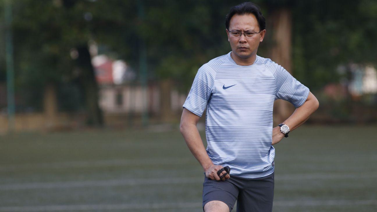 Malaysia national team coach Ong Kim Swee