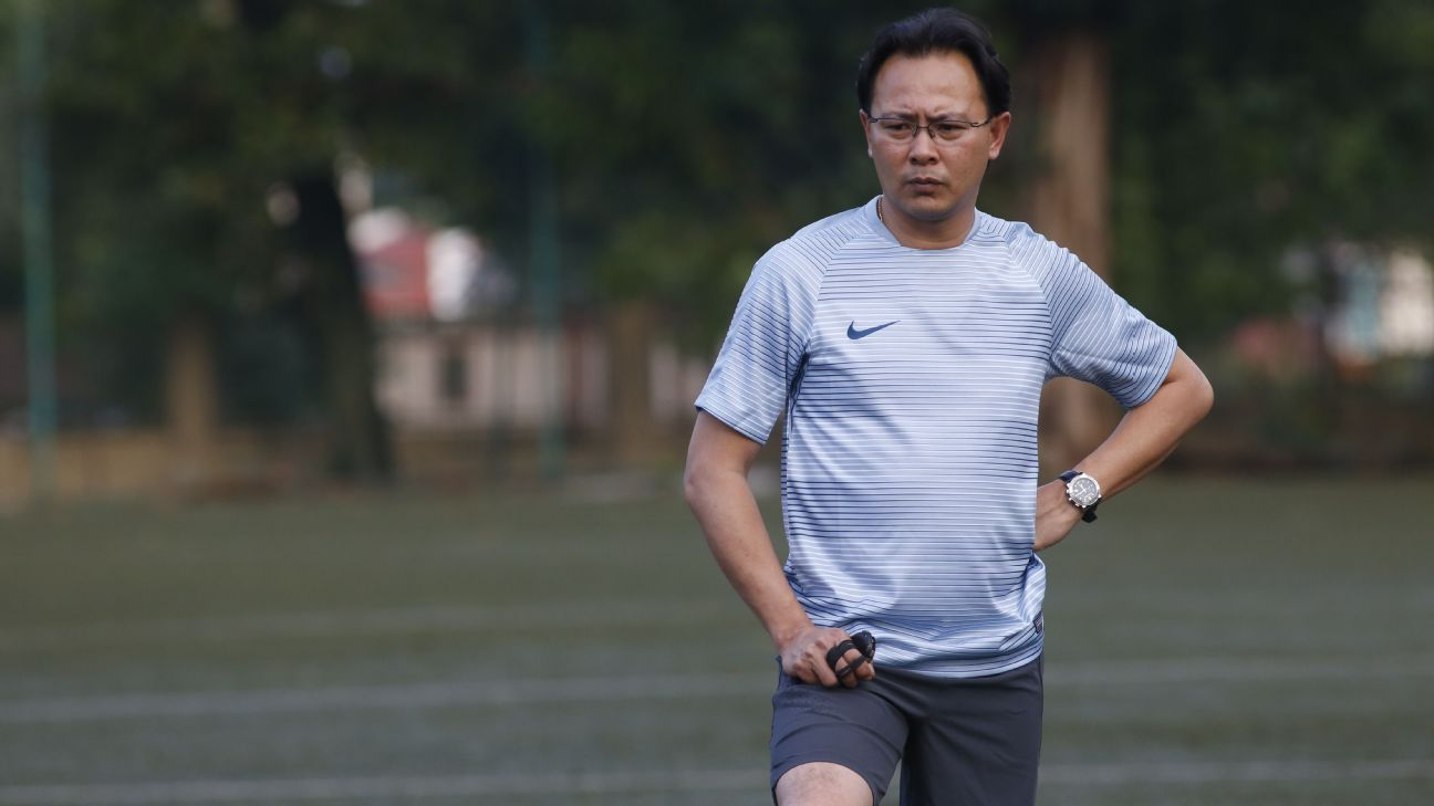 Malaysia national team coach Ong Kim Swee
