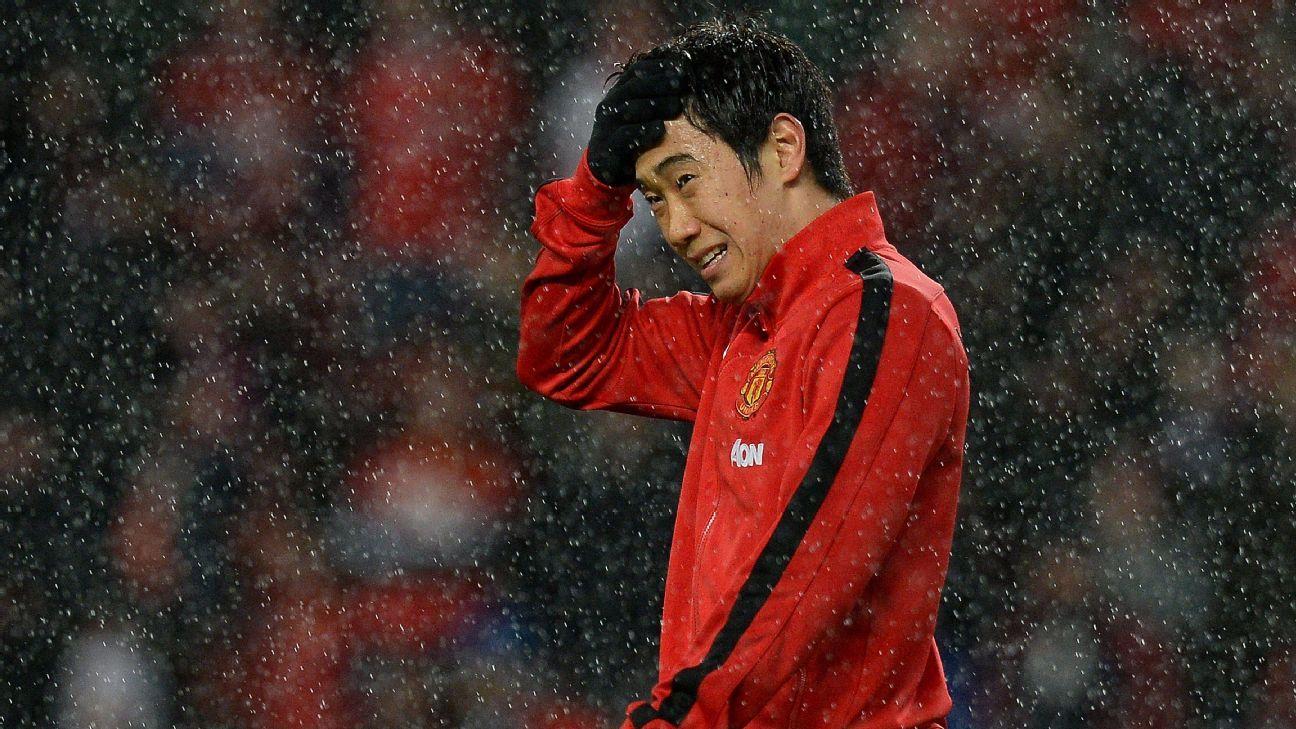 Manchester United winger Shinji Kagawa