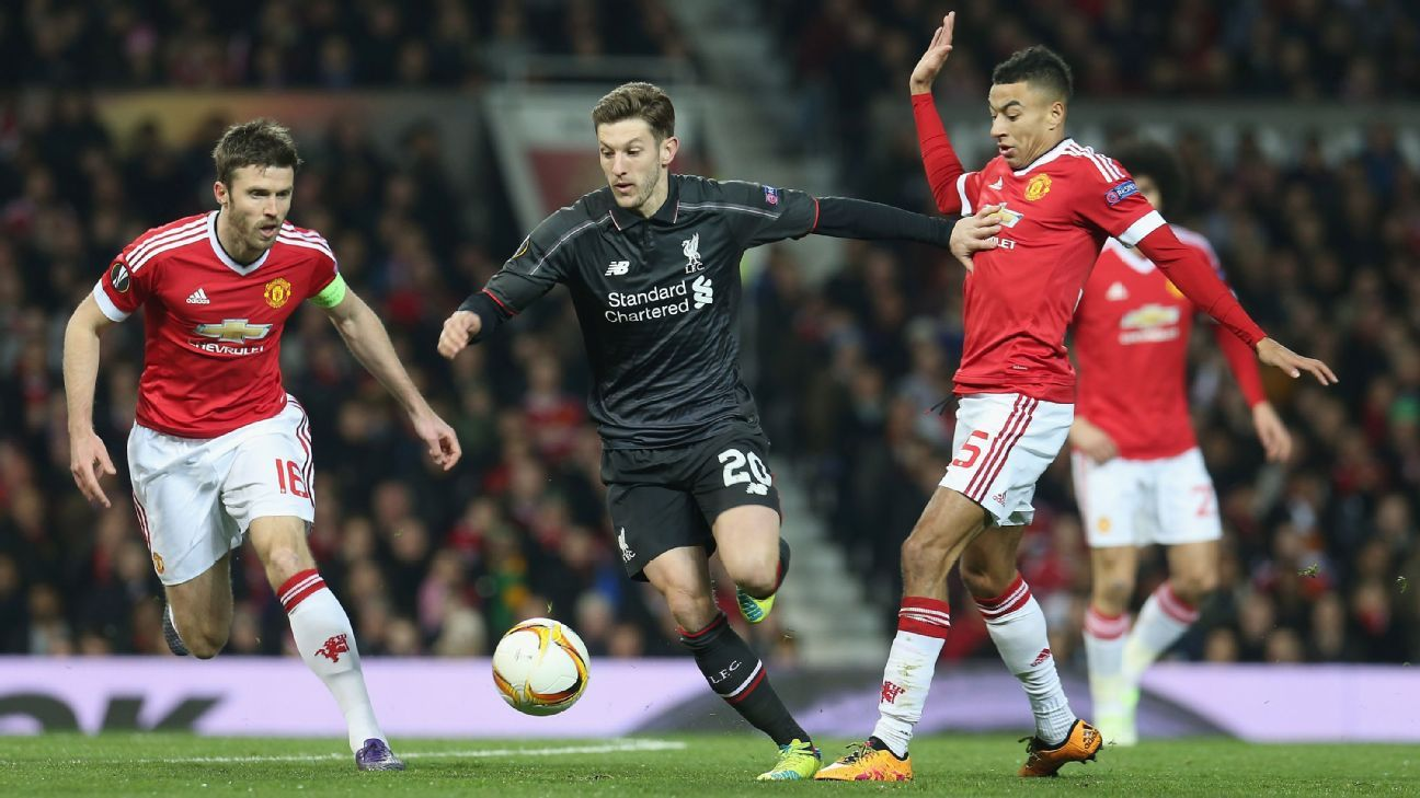 Adam Lallana, now deployed in a central attacking midfield role, is thriving.