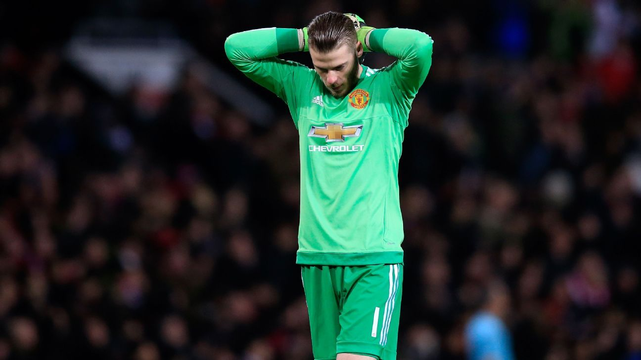 De Gea woe vs Liverpool 160317