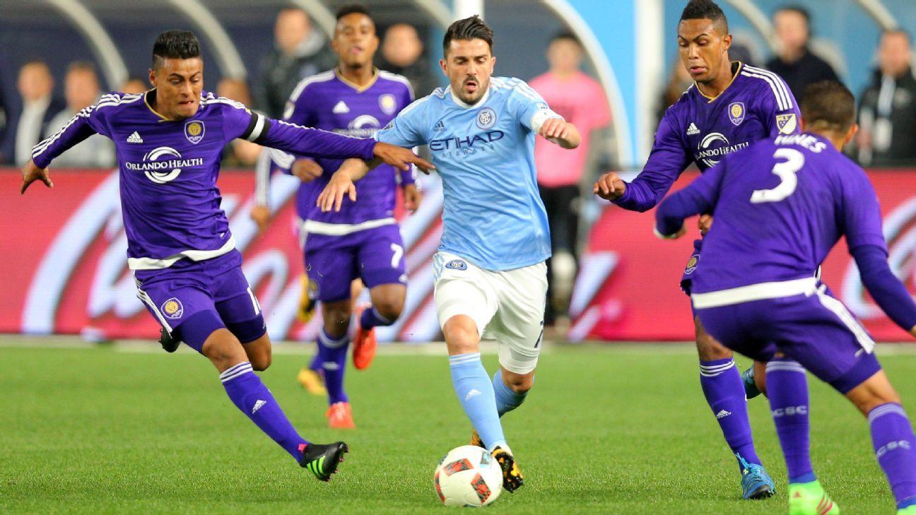 David Villa NYCFC OCSC