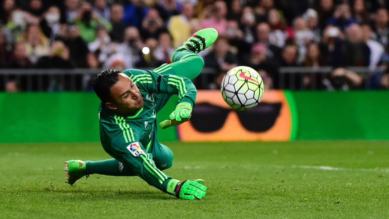 Keylor Navas is having another strong season for Real Madrid.