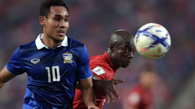 Thailand striker Teerasil Dangda