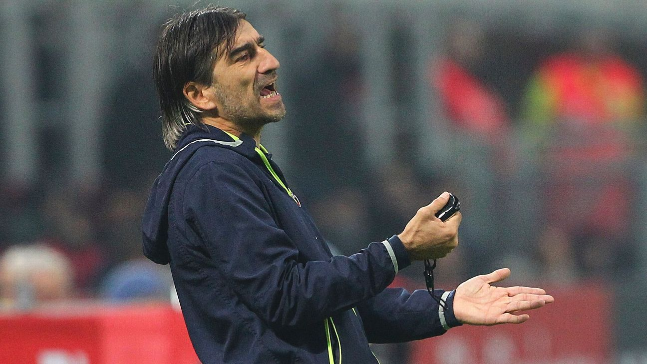 Crotone coach Ivan Juric