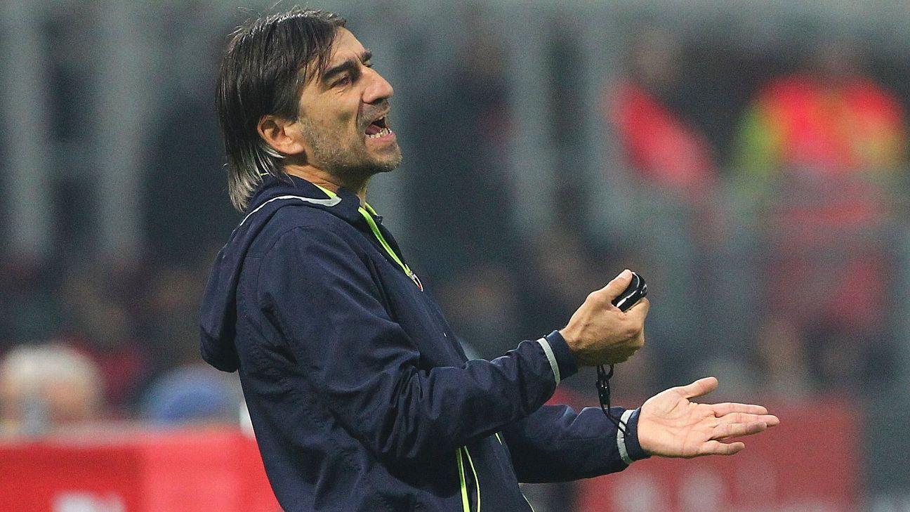 Crotone coach Ivan Juric