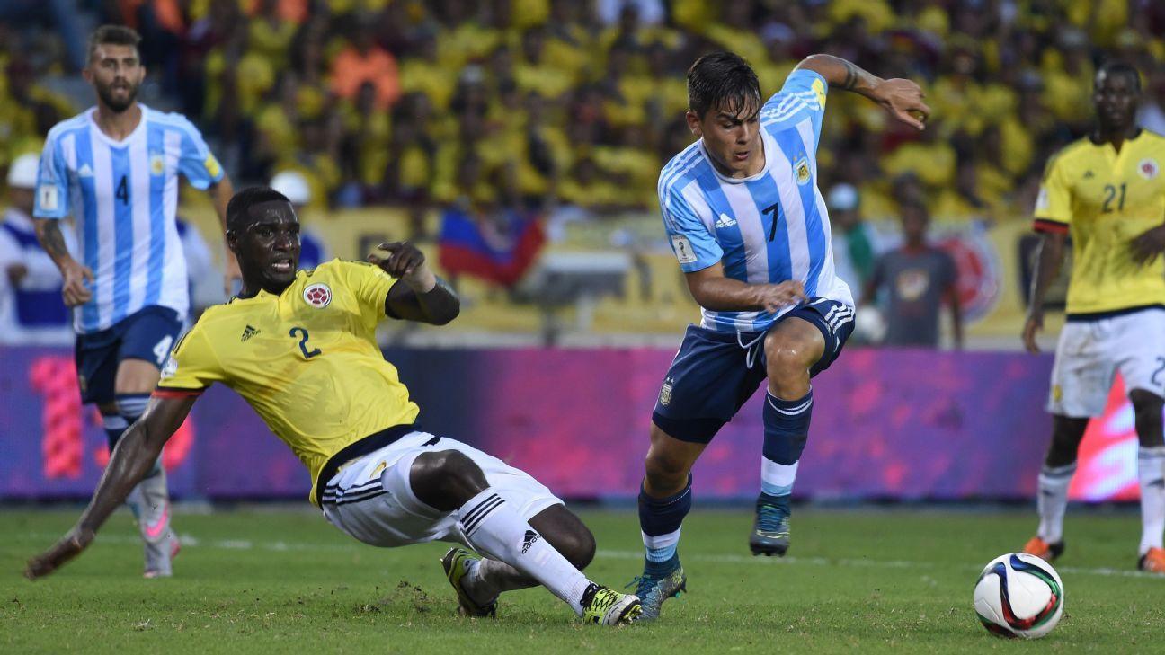Argentina striker Paulo Dybala