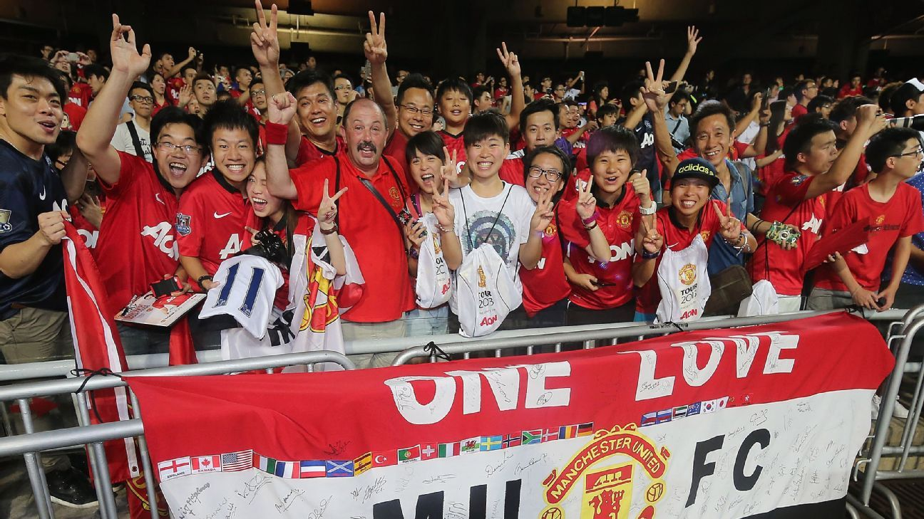 Manchester  China 2016 of summer in announce United tour