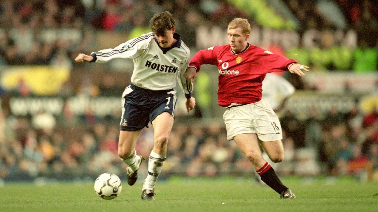 Former Tottenham winger Darren Anderton