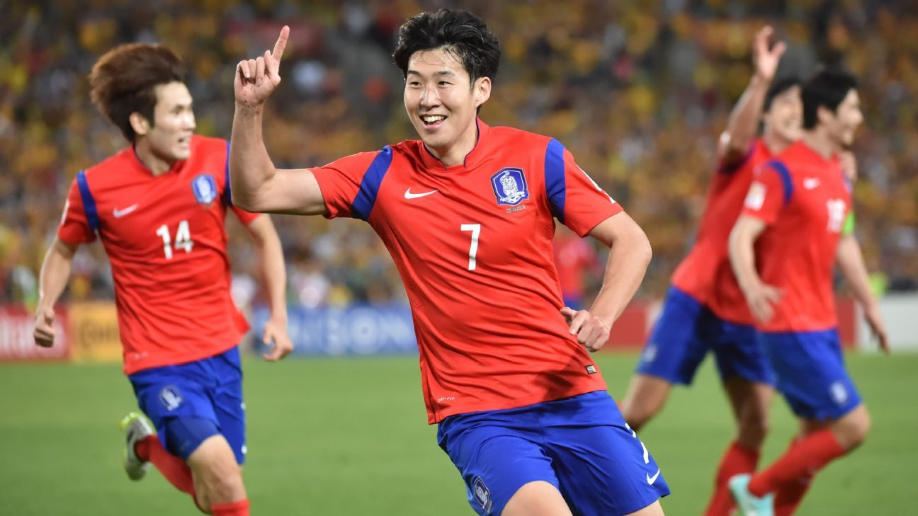 South Korea striker Son Heung Min