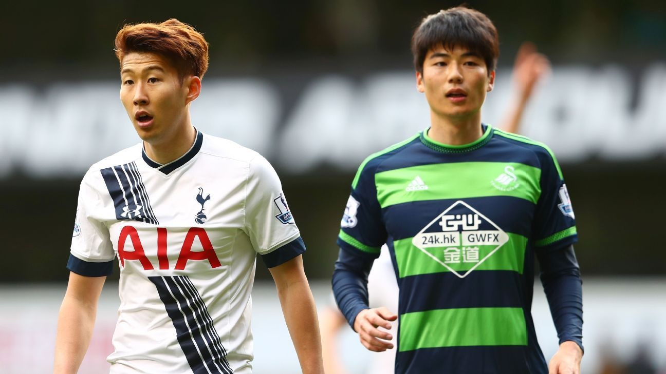 Tottenham forward Son Heung Min