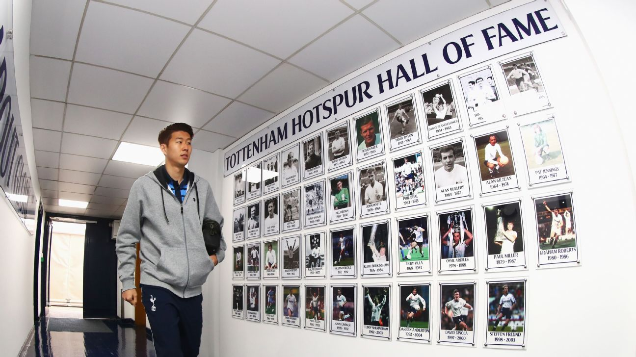 Spurs striker Son Heung Min