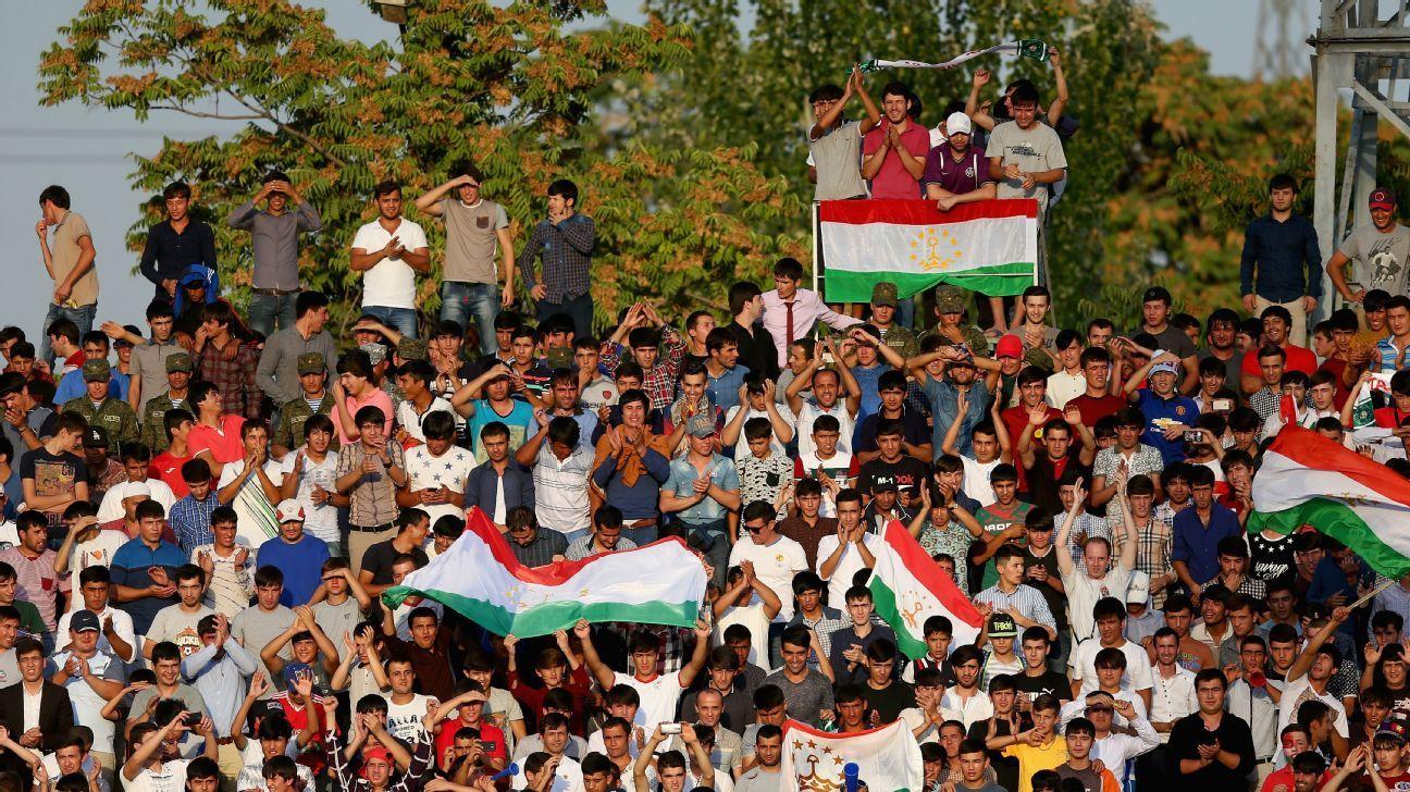 Tajikistan fans