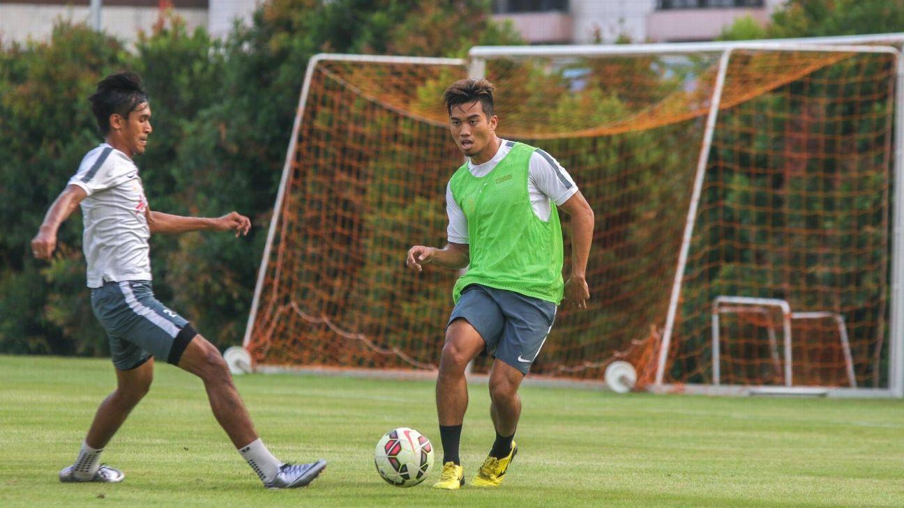 Singapore defender Al-Qaasimy Rahman