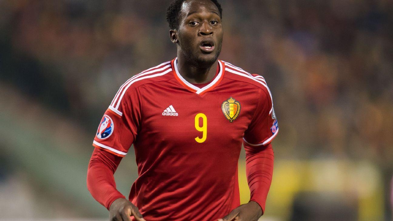 Romelu Lukaku at Belgium