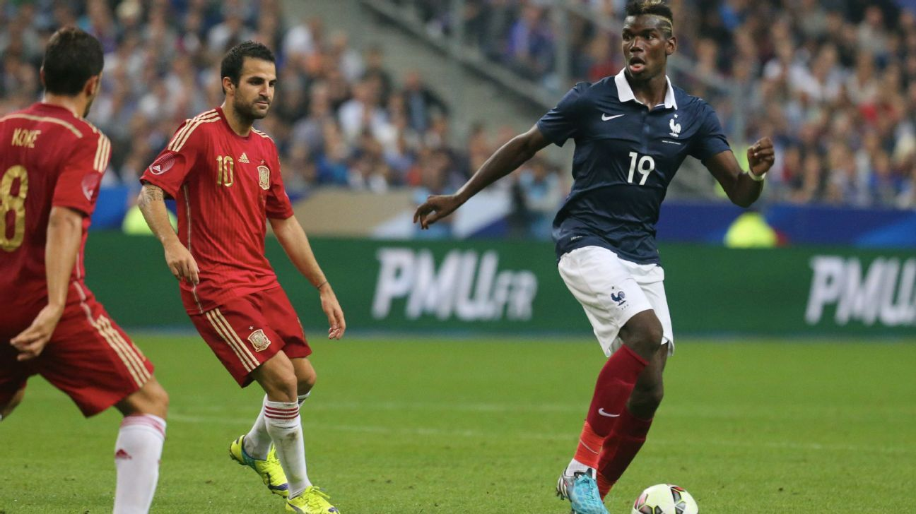 Paul Pogba vs Spain