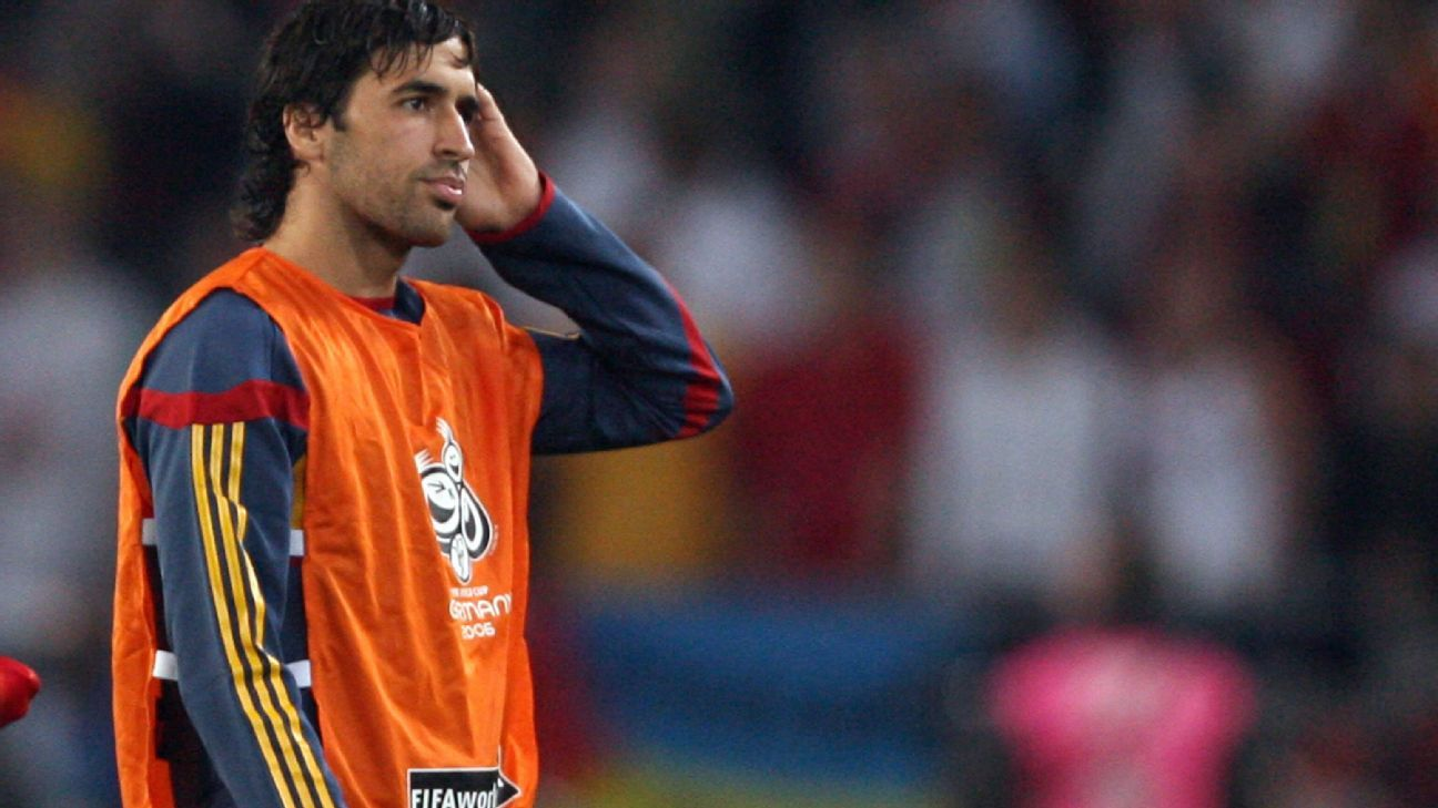 Raul at 2006 World Cup