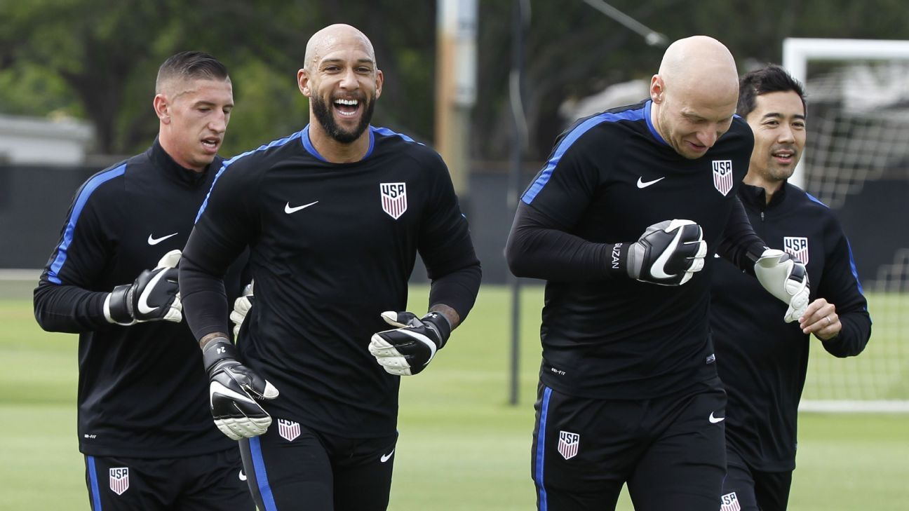 Howard Guzan US Training 160324