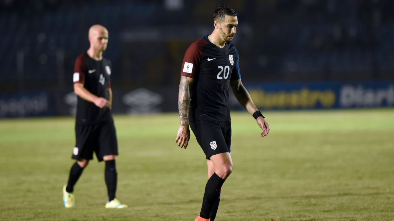 Geoff Cameron and Michael Bradley