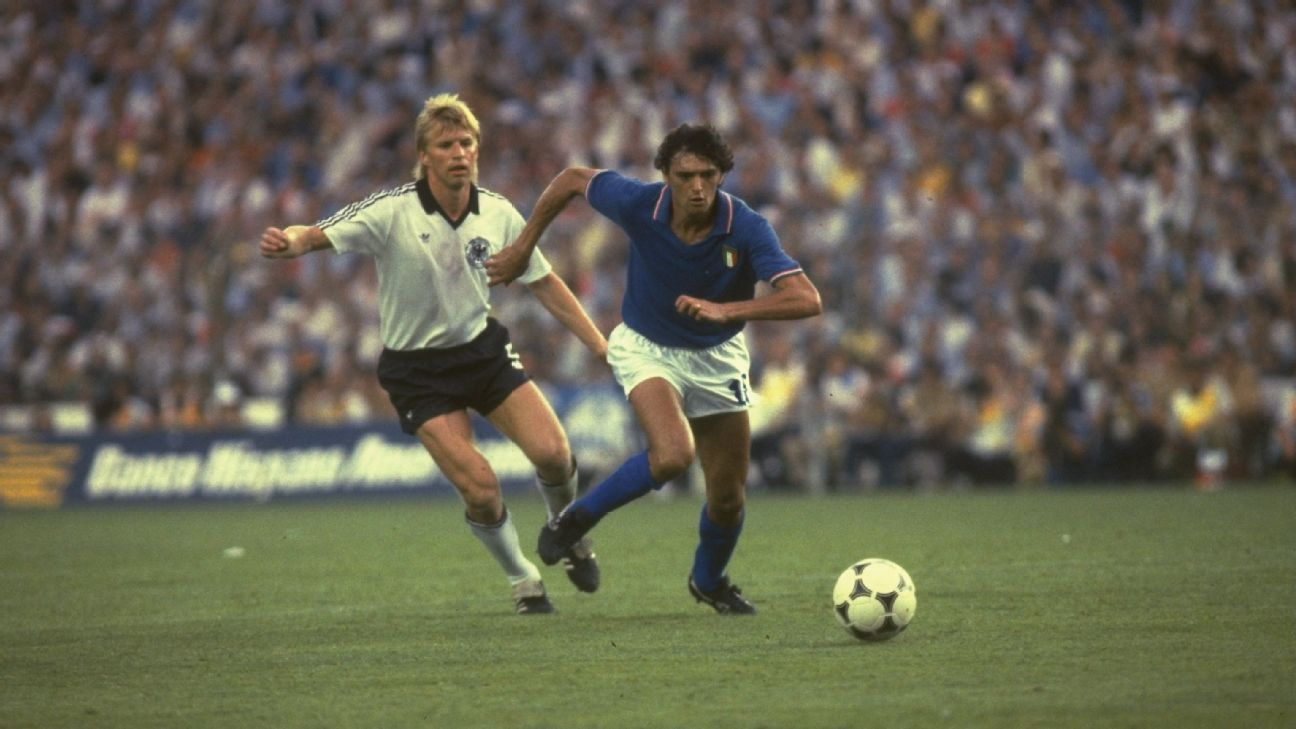 Germany Italy 1982 WC final