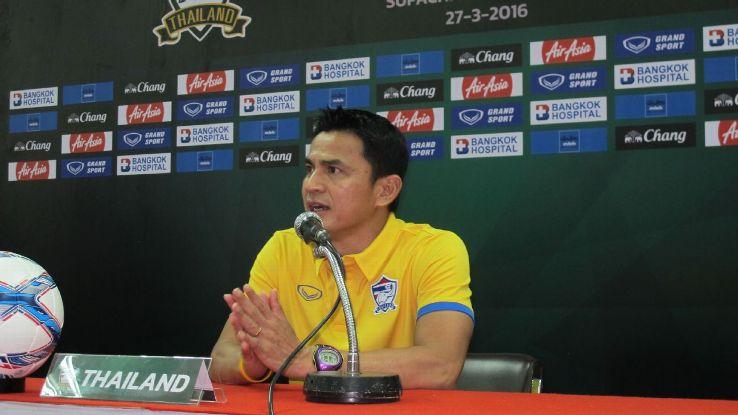 Thailand coach Kiatisuk Senamuang