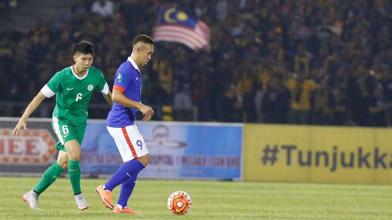 Malaysia striker Norshahrul Idlan Talaha