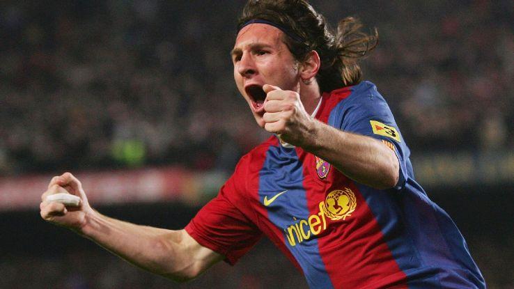 Lionel Messi v Real Madrid 2007