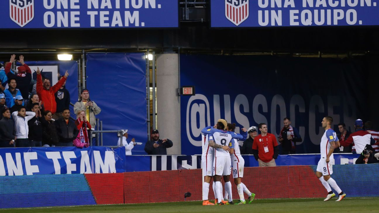US Team celeb vs GUA 160329