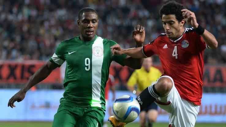 Nigeria were beaten 2-1 on aggregate by Egypt in 2016, preventing an Afcon place for the Super Eagles.