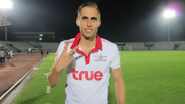 Bangkok United playmaker Mario Djurovski
