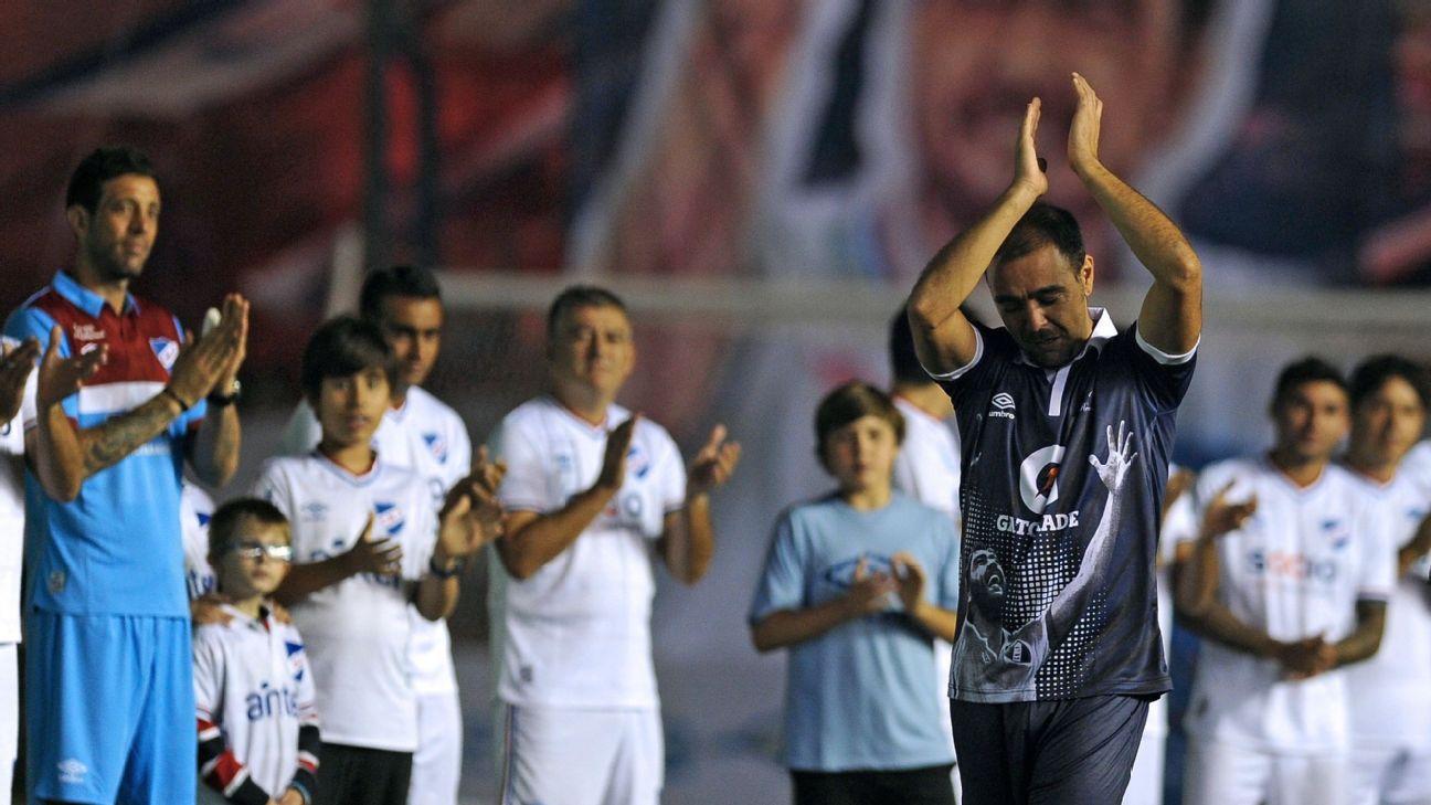 Alvaro Recoba's farewell match