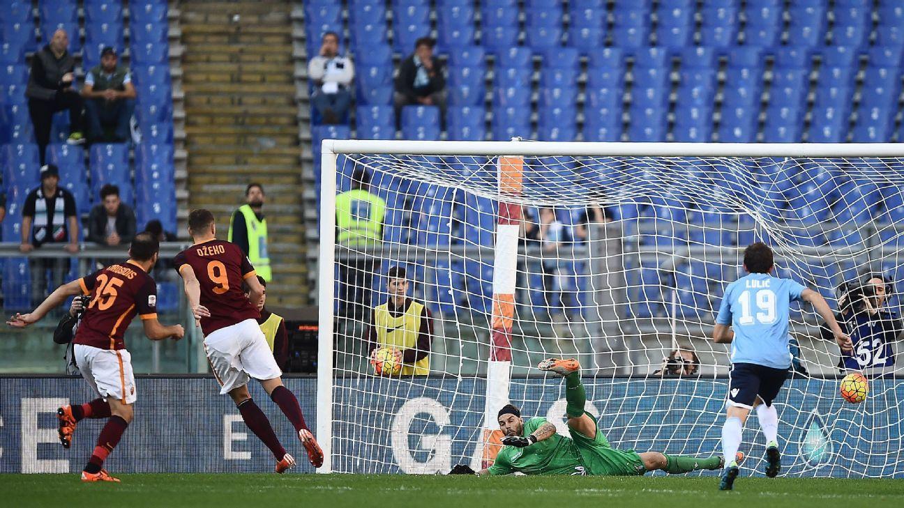 Roma v Lazio 2015