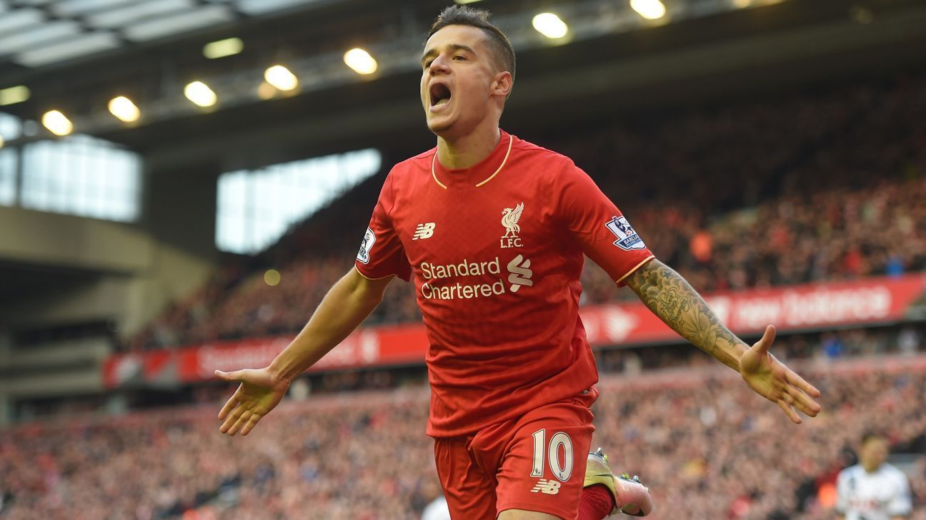 Philippe Coutinho signs new long term Liverpool contract ESPN FC