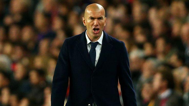 Zinedine Zidane in Clasico