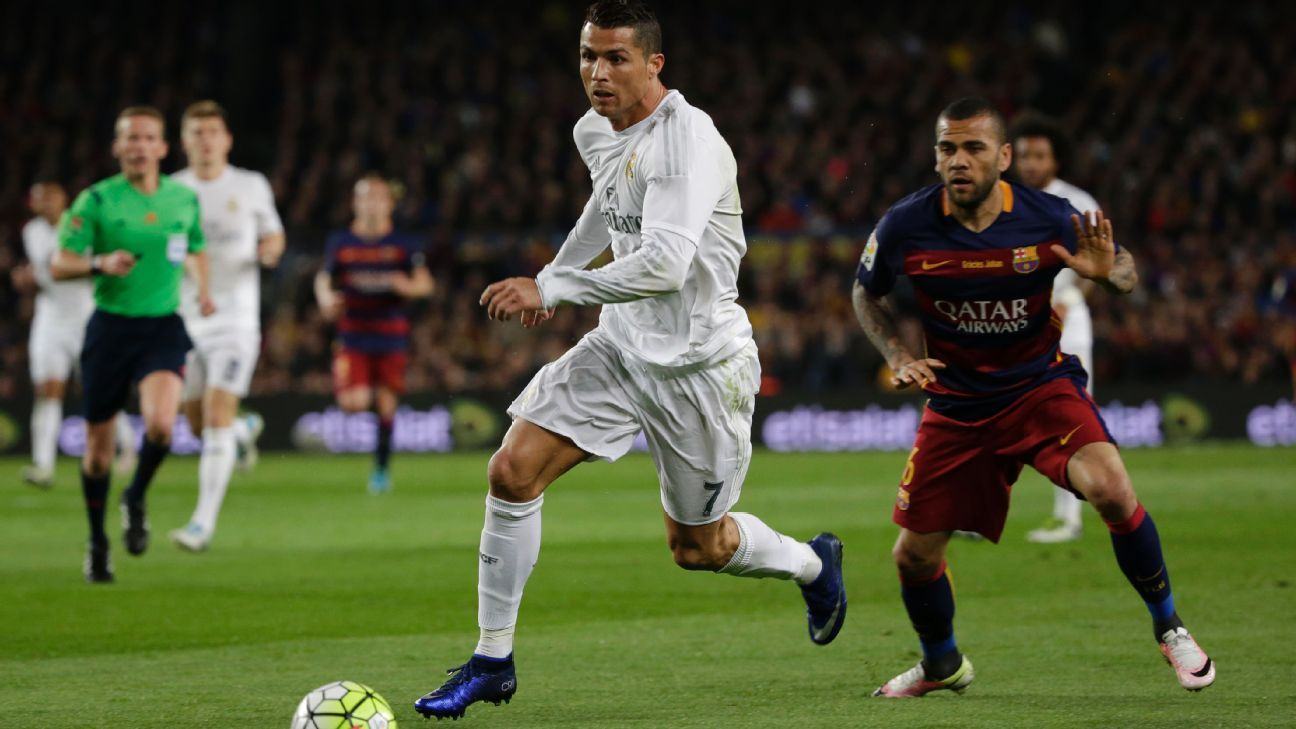 Ronaldo in Clasico