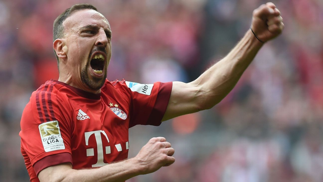 Franck Ribery says he could move to MLS after Bayern Munich stay ends